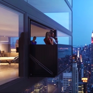 Balkona dönüşebilen tasarım harikası pencere