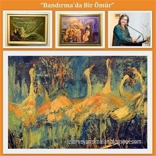 """""""Bandırma'da Bir Ömür"""" tablolarda hayat buluyor"""
