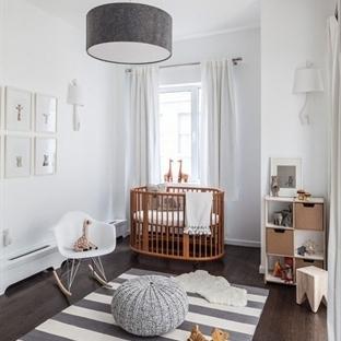 Bebek Odalarında Gri Asaleti