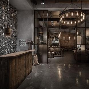 Belenko Design'dan Bakü'de M`Eat Restaurant