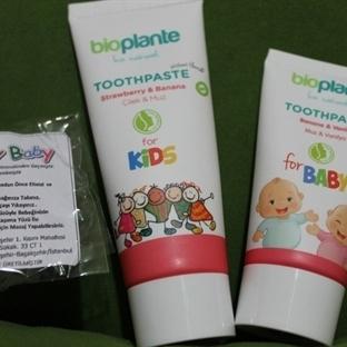 Bioplante Organik Bebek Ve Çocuk Diş Macunları