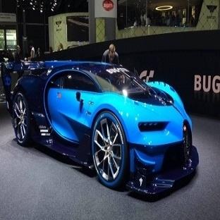 Bugatti Veyron Chiron Uçağa Kafa Tutuyor