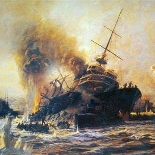 Çanakkale Deniz Savaşı'nda Batırılan İlk Gemi: Bou