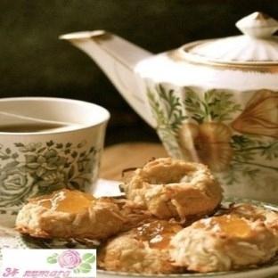 Çayın Yanına Marmelatlı Kurabiye