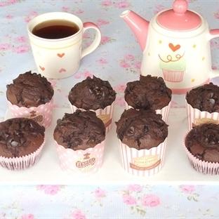 Damla Çikolatalı Muffin (Videolu Tarif)