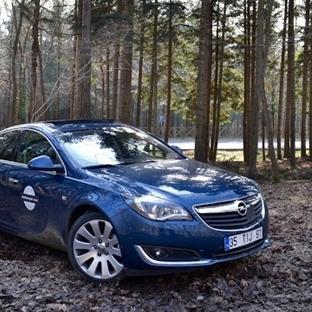 Dizel Otomatik Konforu. Opel Insignia 1.6 CDTi AT