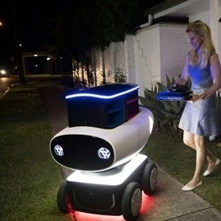 Domino's pizzanın yeni robotu
