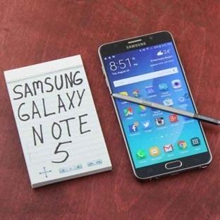 Galaxy Note 5 İçin Marshmallow Güncellemesi Türkiy