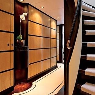 Hallways in Megayachts