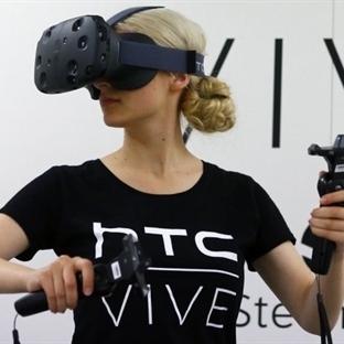 HTC Vive Sanal Gerçeklik Gözlüğü