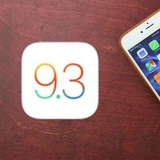 iOS 9.3 Yayınlandı !