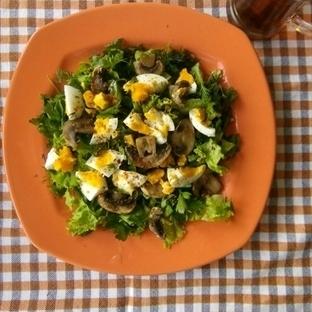 Mantarlı Yumurta Salatası ve Kilo Vermeye Etkisi