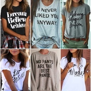 Mesaj Barındıran Tişörtler