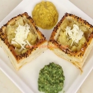 Milföy Sepetinde Patlıcan