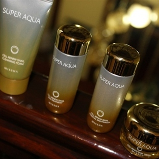 MISSHA Super Aqua Cell Renew Snail Trial Kit Set