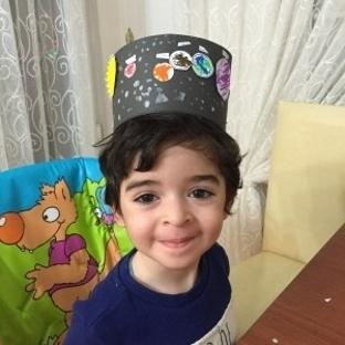 Montessori Etkinlikleri Gezegenler Şapkası
