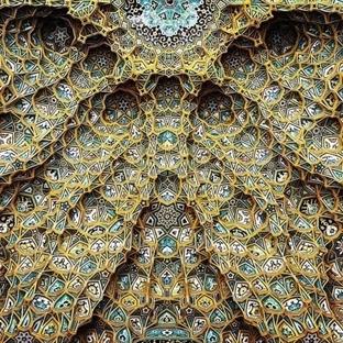 Muhteşem Tavanlarıyla İran Mimarisi Camiler