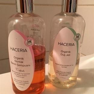 Organik Haceria Duş Jeli ve Haceri Şampuan