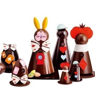 Paskalya 'da Çikolata Sanatı