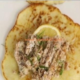 Patatesli Ton Balıklı Krep