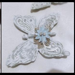 Polyester kelebek boyama