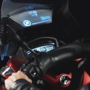 Samsung'dan motorsikletler için akıllı rüzgarlık