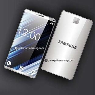 Samsung Galaxy S8'in İlk Konsept Tasarımı