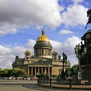St. Petersburg St. isaac katedrali
