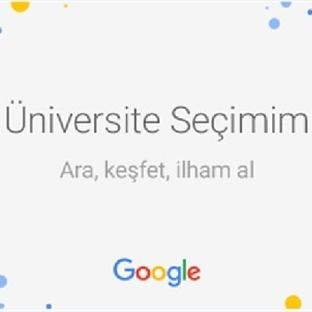 Üniversite adayları için tercih rehberi Google'den