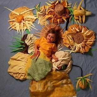 Ünlü Sanat Eserlerini Canlandıran Çocuklar