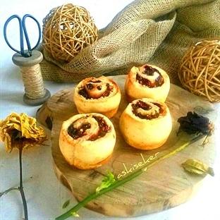 Vişneli Gül Muffin