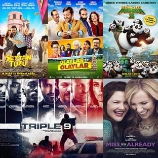 Vizyona Giren Filmler : 18 Mart
