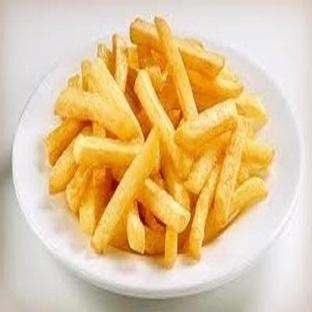 Altın renkli patates kızartması