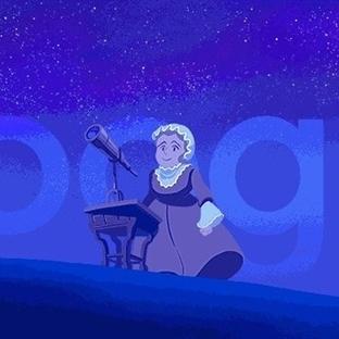 Astronomiye Yön Veren Kadın Caroline Herschel