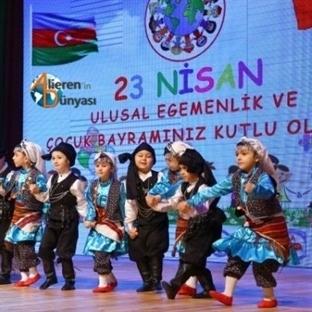 Bakü'de 23 Nisan Kutlama Programı Düzenlendi