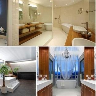 Banyo dekorasyon trendlerinde modern tasarımlar ön