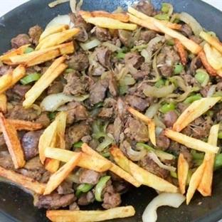 Ciğer Soteye Patates Kızartması Çok Yakışır