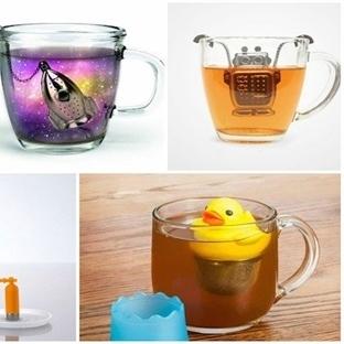 Çay İçmeyi Eğlenceli Hale Getirecek 24 Çay Süzgeci