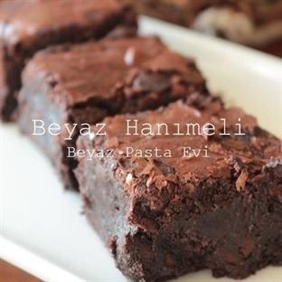 Çift çikolatalı brownie