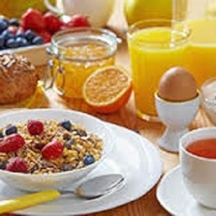 Diyet Kahvaltı Tabağı Hazırlama