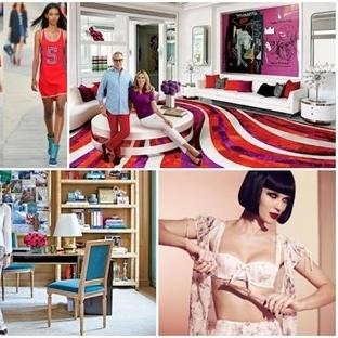 Dünyaca ünlü modacılar iç mekan tasarımına soyunur