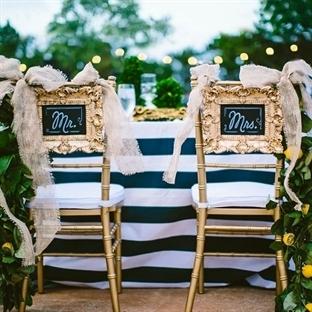 Gelin – Damat Sandalye Süslemeleri