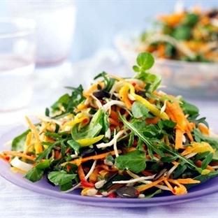 Hızlı Zayıflatan Diyet Salata Tarifleri