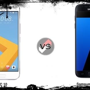 HTC 10 ve Samsung Galaxy S7 Karşılaştırması