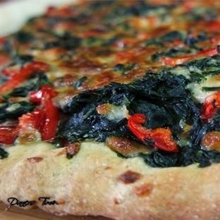 Ispanaklı Pratik Pizza