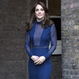 Kate Middleton: Saloni Maxi Elbise