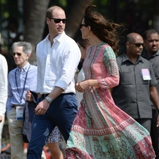 Kate Middleton: Anita Dongre Tunik Elbise