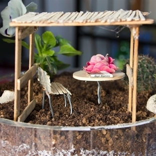Mini bahçelere devam