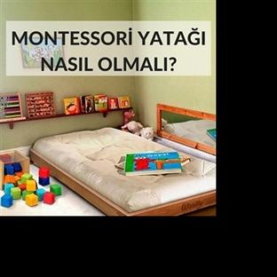 Montessori Yatağı Nasıl Olmalıdır?