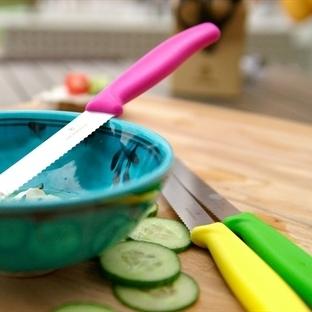 Mutfağınıza renkli bıçaklar